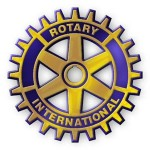 Vi støtter Rotary International